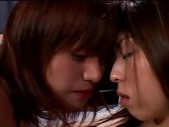 Skinny Japanese sluts in nice lesbian action