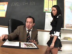 Immoral Student Fucking Her Teacher