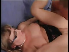 Hot grannies nailed in young vs. old xxx video