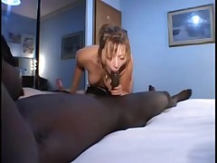 Group sex scene with a hot Italian gal