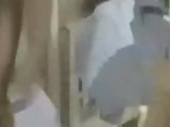 Hotel guests fuck the maid