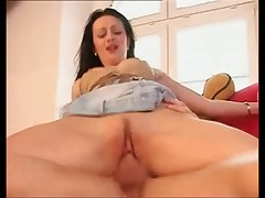 Really horny sexy MILF babe gets a rough fucking