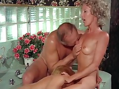 Vintage lesbian sex with hot dildos and sex toys