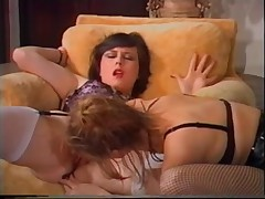 Vintage hairy sluts getting their pussy fucked hard