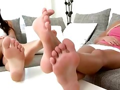 Legal Age Teenagers licking feet