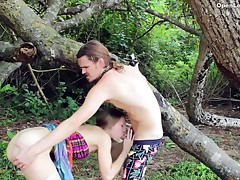 Public Oral-Sex and Fuck in Beachfoest