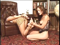 Shay with heathers undressed feet