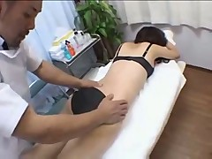 Dazzling Asian Angel Gets Close to Than A Massage