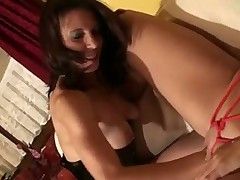 Fist disappears into her blonde pussy