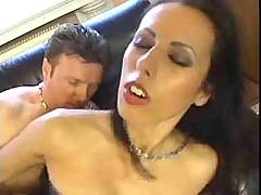 Nice girl in pantyhose love anal sex