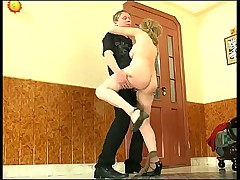 Russian mature hardcore action