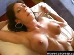 Pervert masseuse bangs hottie