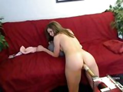 Amateur Kimber Peters doggie style webcam