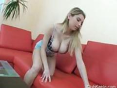 Katrin Kozy mega boobs masturbation