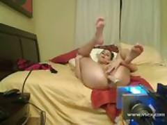 Amateur live sex machine webcam with Nella Jay