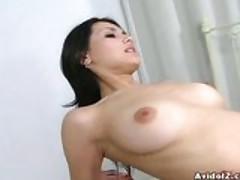 Maria Ozawa sucks and gets fucked Uncensored!!