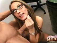 Secretary Jenna Haze works late and gets laid!