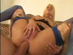 Wife takes two cocks