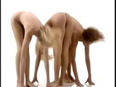Nude aerobics