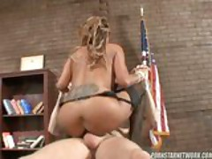 Mark Wood Fucks His Teacher Demi Delia For Some Extra Credit After School