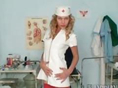 Vanesa naughty nurse uniform fetish masturbation