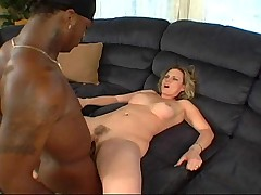 Pusillanimous Milf To Fat Nuisance Gets BBC For Along to First Era