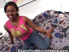 busty black teen nicely fucked