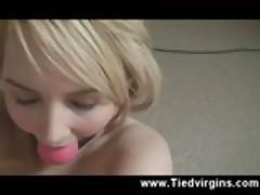 Adorable Blonde Orgasm