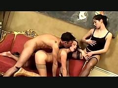 Amazing Euro Threesome
