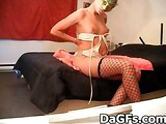 Homemade squirting videotape