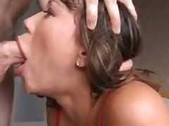 Ava Devine Rough Blowjob