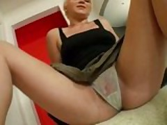 Blonde Teen Gets Pounded