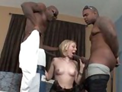 Jules Sterling interracial threesome
