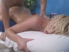 Blonde gets a surprise fuck