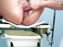 Jessica pussy gyno visit at kinky gynoclinic