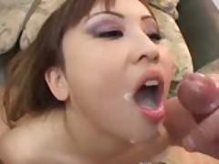 Asian Whore Swallows