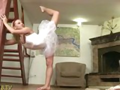 Little Ballerina Vanessa get fucked