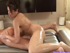 Nuru Massage Ends with a Hot Shower Fuck