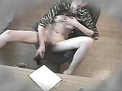 Girl to use the dildo