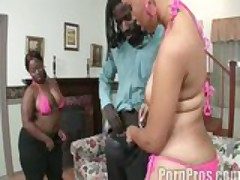 Ms. Booty & Joei Deluxxx get filthy nasty after KFC night!