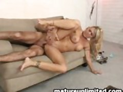 Milf loves to be pounded in her ass....