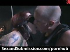 Kylie Ireland in real BDSM sex scene!