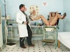 Busty Alexa Bold Gyno Exam And Tits Bondage At Kinky Gyno Clinic