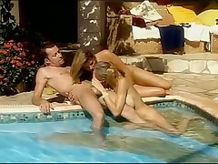Hot Threesome by the Pool
