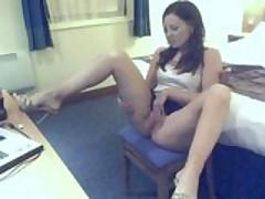 Pissing on webcam