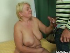 He Fucks His Mature Mother-In-Law
