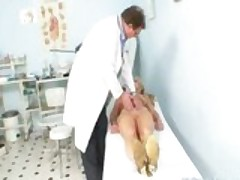 Mature Woman Anezka Coming To Get Her Mature Pussy Examined