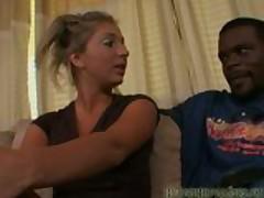 Jaelyn sucks and fucks a big black dick