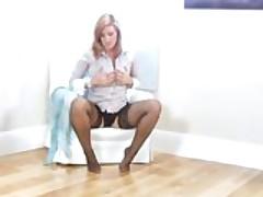 Leona Lee Couch Masturbation