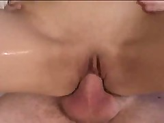 Brunette Teen With Cute Little Body Sucks And  Fucked